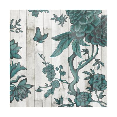 Terra Verde Chinoiserie I-Naomi McCavitt-Art Print