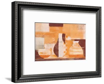 Terra Waves-Anna Flores-Framed Art Print