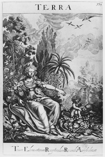 Terra--Giclee Print