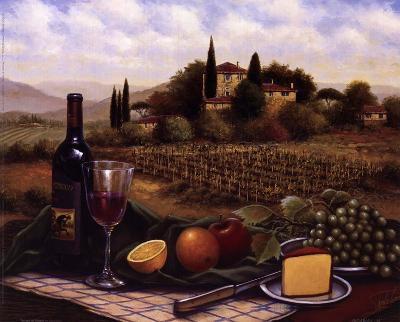 Terrace At Chianti-Unknown-Art Print