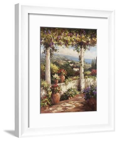 Terrace Hermosa-Andino-Framed Art Print