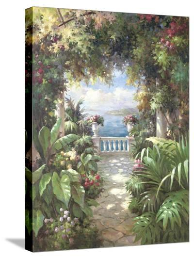 Terrace Retreat-James Reed-Stretched Canvas Print