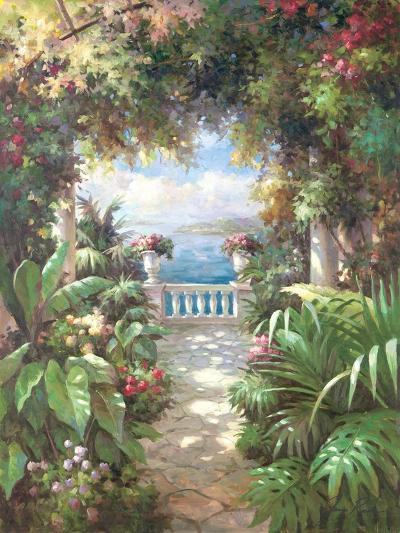 Terrace Retreat-James Reed-Art Print