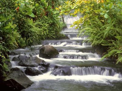 Terraced Falls-Monte Nagler-Photographic Print