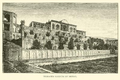 Terraced Gardens of Shiraz--Giclee Print