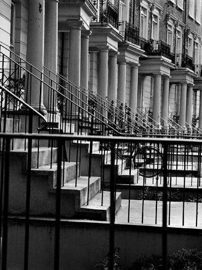 Terraced Houses London I-John Gay-Art Print
