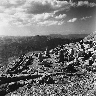 Terraced Summit of Nemrut Dagiremains with Remains of the Colossal Statues-Pietro Ronchetti-Photographic Print