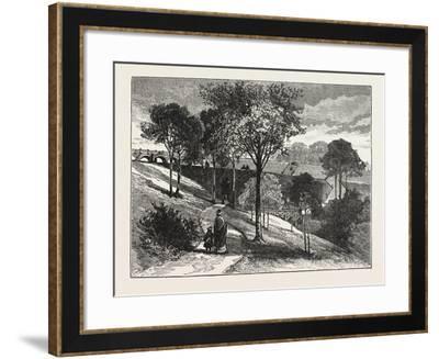 Terraces in Beaumont Park, Huddersfield, Uk, 1883--Framed Giclee Print