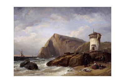 Terracina Tower, 1854-Clarkson Stanfield-Giclee Print