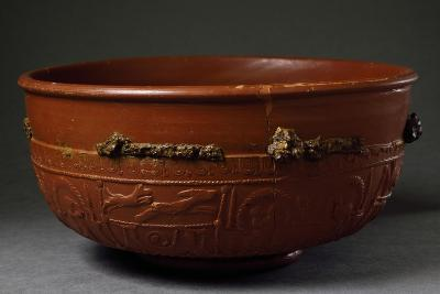 Terracotta Container from Imperial Age BC-5th Century AD--Giclee Print