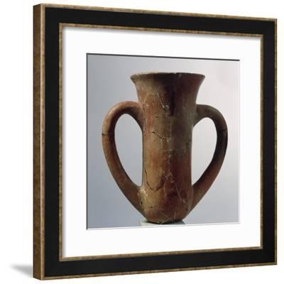 Terracotta Cupo from Troy Ii--Framed Giclee Print