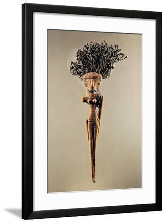 Terracotta Figurine, Probably Fetish--Framed Giclee Print