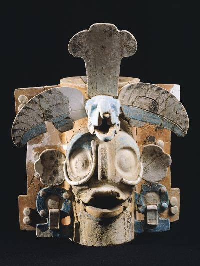 Terracotta Incense Burner, Used by Mayans to Burn the Copale to their Gods--Giclee Print