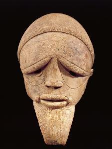 Terracotta Sculpture of Male Head, Sokoto, Nigeria, 6th-2nd Century BC