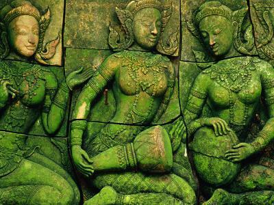 Terracotta Sculptures at Ban Phor Liang Meun Ceramics-Frank Carter-Photographic Print