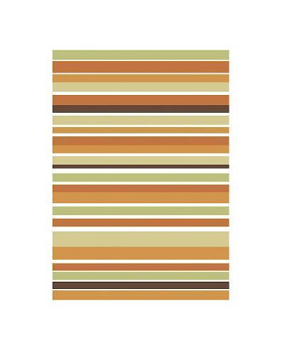 Terracotta Stripes-Denise Duplock-Giclee Print
