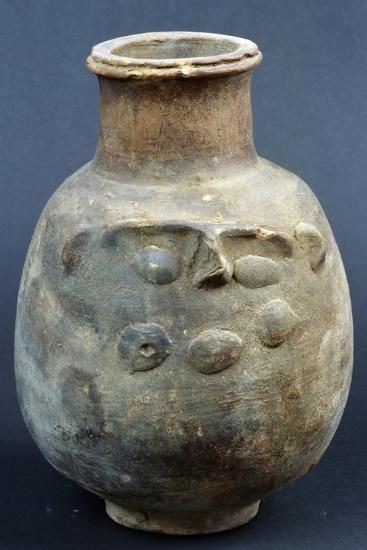 Terracotta Vase Depicting God Bes--Giclee Print