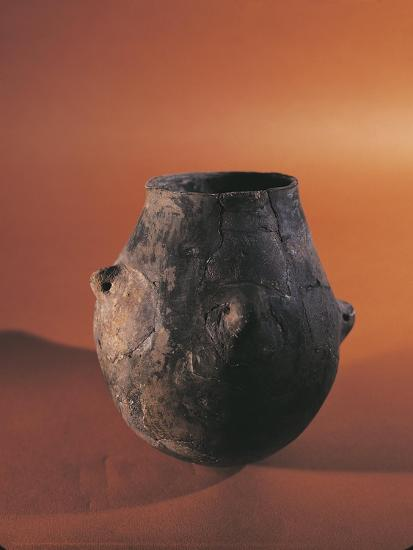Terracotta Vessel from Alsace--Giclee Print