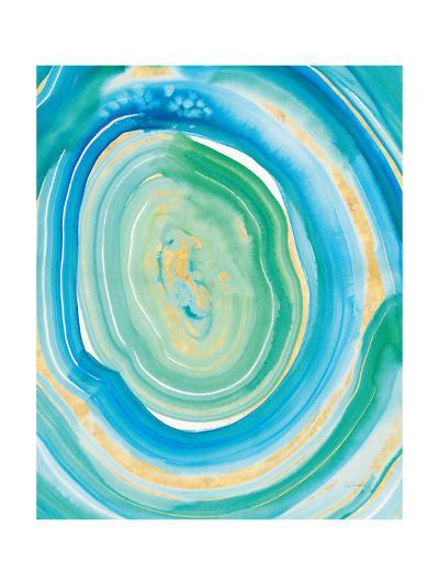 Terrain Gilded II Crop Center.-Sue Schlabach-Art Print