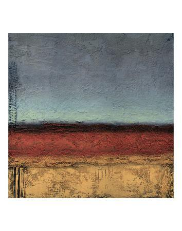 Terrain IV-Jeannie Sellmer-Art Print