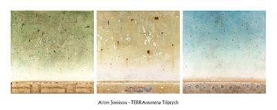 TERRAnumena Triptych-Atom Johnson-Art Print