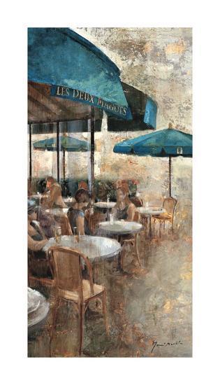 Terraza Café Les Deux Magots-Noemi Martin-Giclee Print