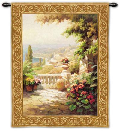 Terrazo II-Roberto Lombardi-Wall Tapestry