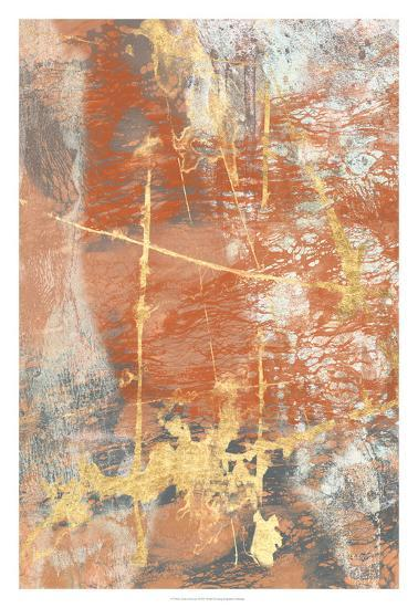 Terre Cotta Lace I-Jennifer Goldberger-Art Print