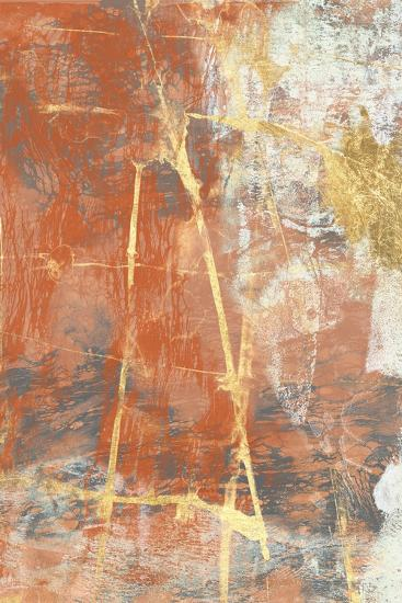 Terre Cotta Lace II-Jennifer Goldberger-Art Print