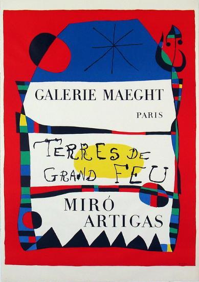 Terres De Grand Feu-Joan Mir?-Collectable Print