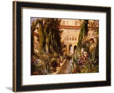 Terrestrial Paradise-Mary Dulon-Framed Premium Giclee Print