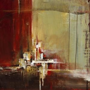 City with Color I by Terri Burris