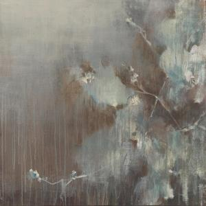 Flowers in the Morning Fog by Terri Burris