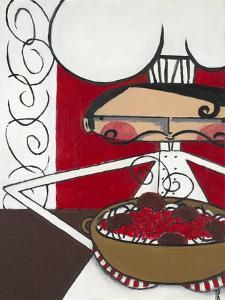 Spaghetti and Meatballs by Terri Burris