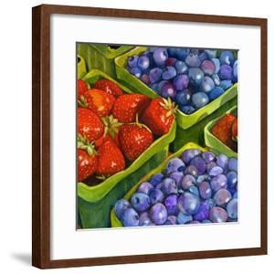 Basket o' Berries by Terri Hill