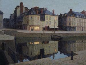 Quiet Twilight, Honfleur by Terrick Williams