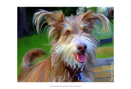Terrier Hairspray-Robert Mcclintock-Art Print
