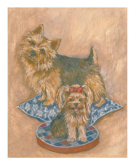Terriers-Carol Ican-Art Print