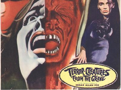 Terror Creatures From The Grave, 1966--Art Print