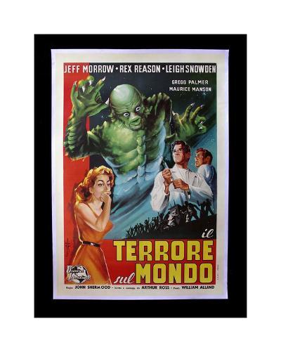 Terrore Sul Mondo--Giclee Print