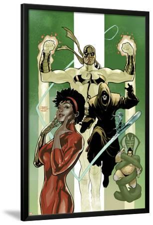 Defenders No.6 Cover: Misty Knight and Iron Fist
