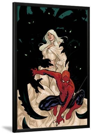 X-Men No.8 Cover: Spider-Man and Emma Frost