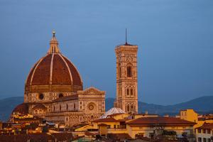 Basilica di Santa Maria Del Fiore, the Duomo, Florence, Italy by Terry Eggers