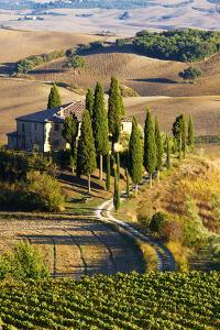 Belvedere House, San Quirico D'Orcia, Tuscany, Italy by Terry Eggers