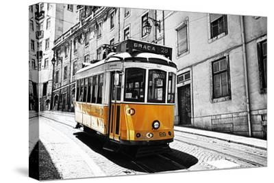 Portugal, Lisbon. Famous Old Lisbon Cable Car by Terry Eggers