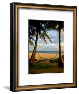 Ship Wreck Beach and Hammock, Kauai, Hawaii, USA by Terry Eggers