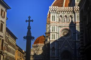 The Duomo of Florence with Evening Light by Terry Eggers