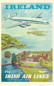 "Ireland - Fly Irish Air Lines - Lockheed Martin Constellation ""Connie"" Aircraft by Terry"