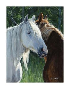 Horse Whispering by Terry Isaac