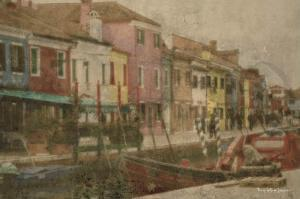 Burano Canal II by Terry Lawrence